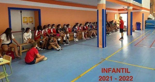 voleibol infantil salesianos trinidad sevilla 2021 2022